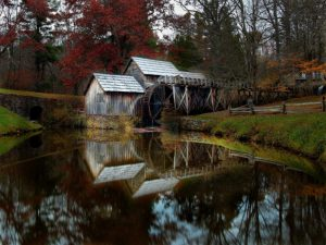 Mabry Mill, the Most Photographed Site on the Blue Ridge Parkway