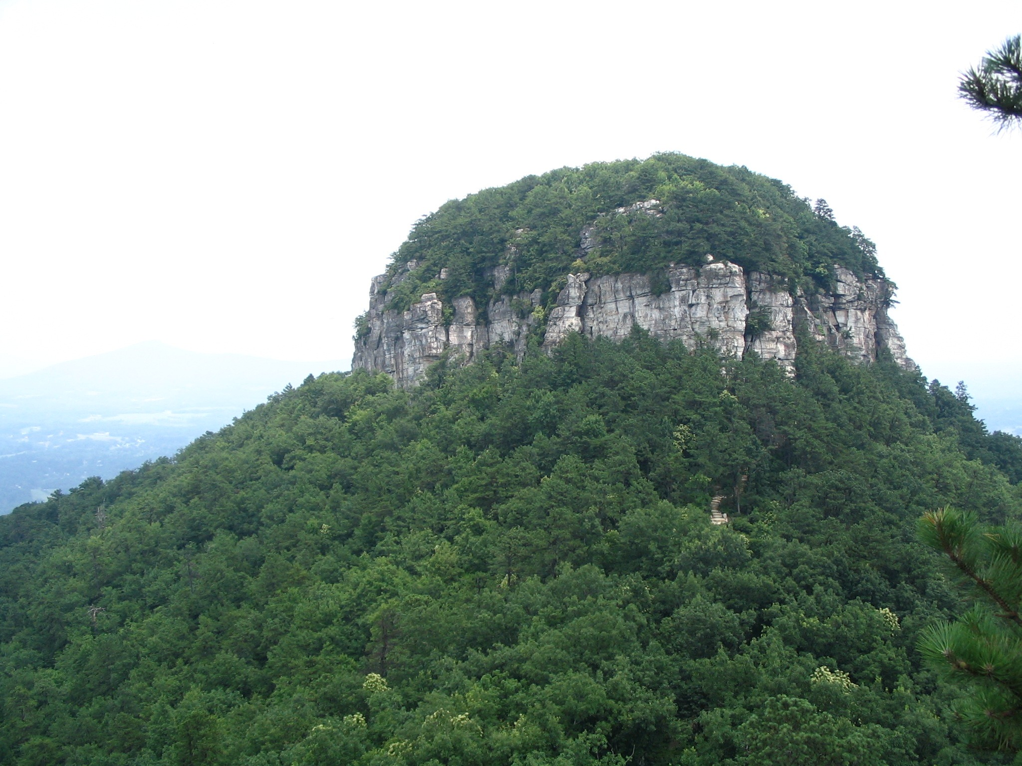 Pilot Mountain -- A Popular Hiking Spot