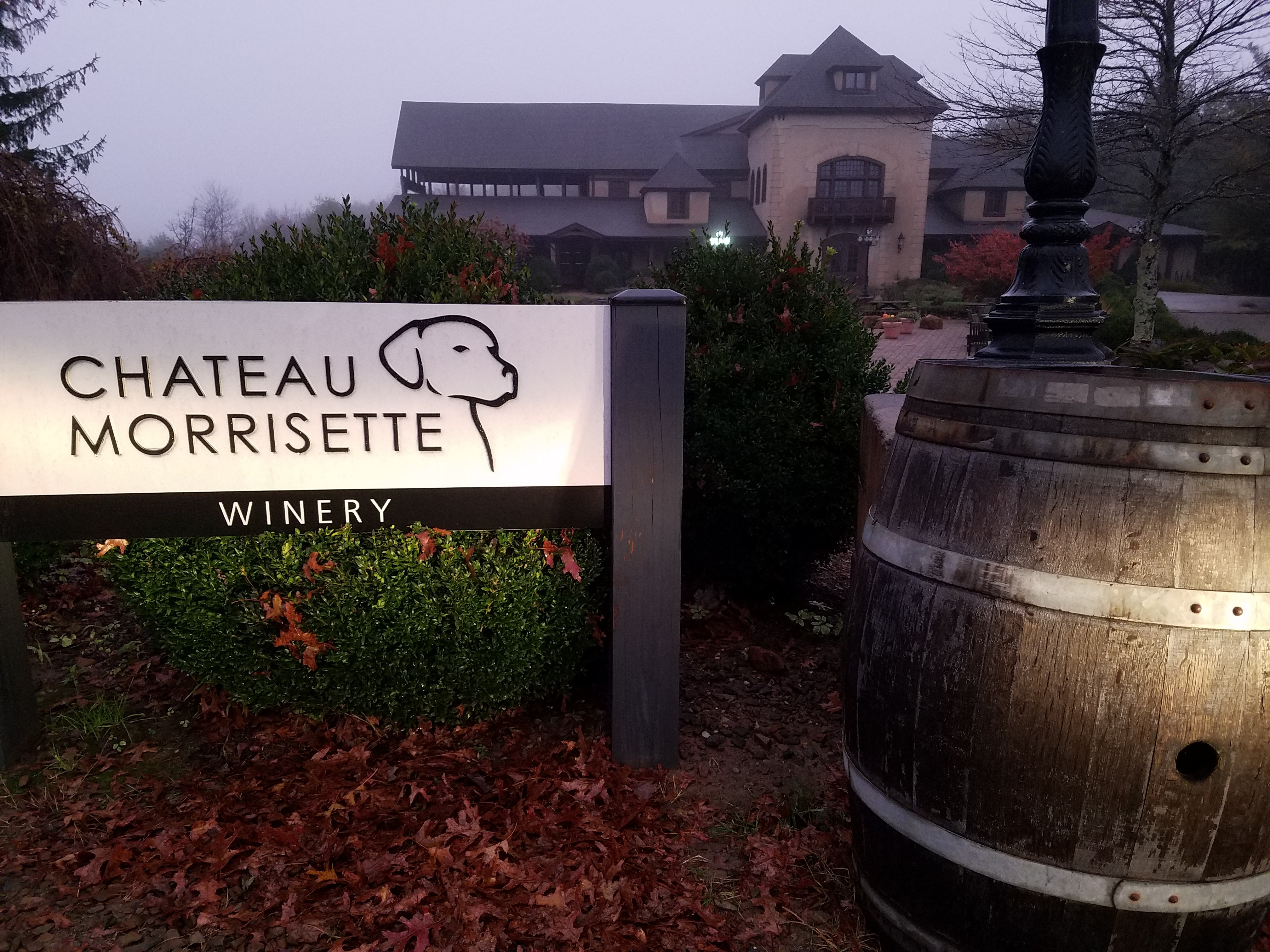 Chateau Morrisette Barrel and Winery