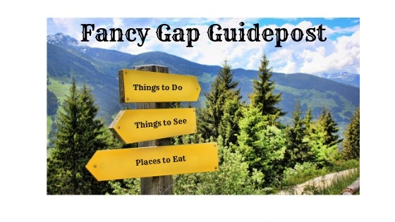 Fancy Gap Guidepost Header