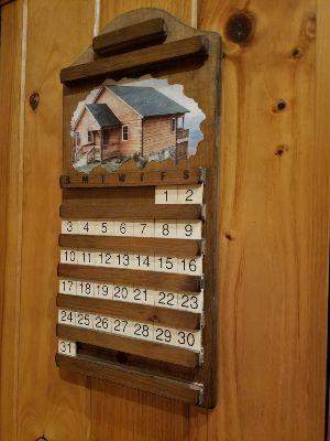 Cabin Calendar - 300x400