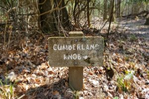 Cumberland Knob Sign